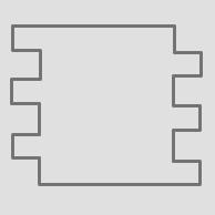 Formato 291x295.5x6.5mm